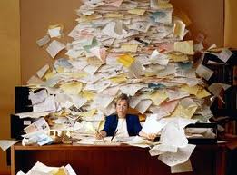 mound of work