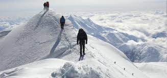Reaching he 20,310-foot high summit of Denali is neither as difficult nor as harrowing as climbing Everest (as depicted in the Everest in theatres now). But climbing Denali still is quite challenging and only should be attempted by serious and experienced mountaineers.